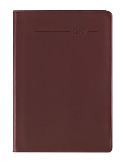 Minitimer PVC rot 2020 – Taschenplaner – Taschenkalender A6 – 1 Woche 2 Seiten – 192 Seiten – Terminplaner – Notizbuch von ALPHA EDITION