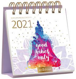Miniwochenkalender Good vibes only 2021