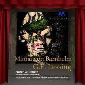 Minna von Barnhelm, Hören & Lernen von Herfurth-Uber,  Beate, Hoppe,  Sebastian, Krahwinkel,  Lars