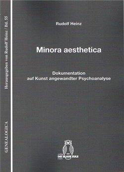 Minora aesthetica von Heinz,  Rudolf