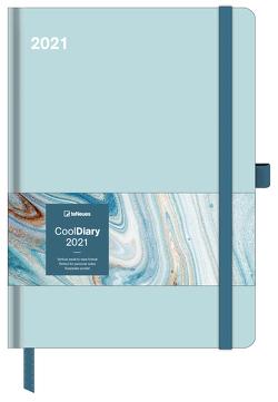 Mint/Marble Ink 2021 – Diary – Buchkalender – Taschenkalender – 16×22