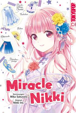 Miracle Nikki 02 von Sakurano,  Mika