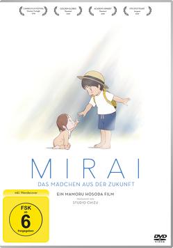 Mirai – Das Mädchen aus der Zukunft – DVD von Hosoda,  Mamoro