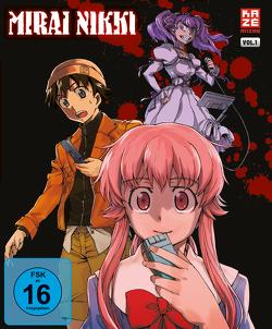 Mirai Nikki – Blu-ray 1 von Hosoda,  Naoto