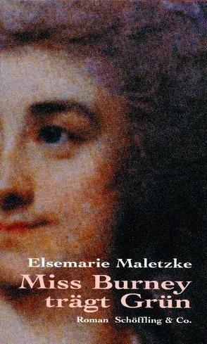 Miss Burney trägt grün von Maletzke,  Elsemarie