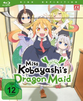 Miss Kobayashi's Dragon Maid – Blu-ray 1 mit Sammelschuber (Limited Edition) von Takemoto,  Yasuhiro
