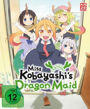Miss Kobayashi's Dragon Maid – DVD 1 mit Sammelschuber (Limited Edition) von Takemoto,  Yasuhiro