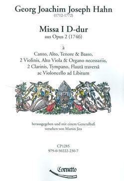 Missa I D-Dur von Hahn,  Georg Joachim Joseph, Jira,  Martin