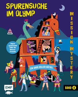 Mission Mystery – Ein Haus voller Rätsel: Spurensuche im Olymp – Band 4 von Huth,  Beate, Martin,  Paul