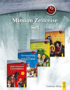 Mission Zeitreise Set von Rittig,  Gabriele, Weber,  Jens Maria