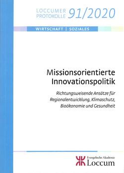 Missionsorientierte Innovationspolitik von Fornahl,  Dirk, Lange,  Joachim