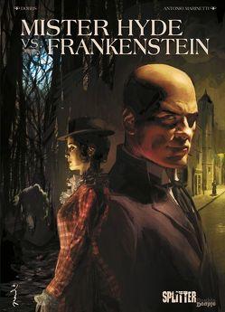 Mister Hyde vs. Frankenstein von Dobbs, Marinetti,  Antonio