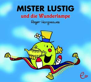 Mister Lustig und die Wunderlampe von Buchner,  Lisa, Hargreaves,  Roger