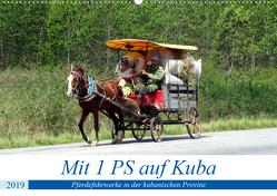 Mit 1 PS auf Kuba – Pferdefuhrwerke in der kubanischen Provinz (Wandkalender 2019 DIN A2 quer) von von Loewis of Menar,  Henning