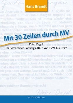 Mit 30 Zeilen durch MV von Brandt,  Hans
