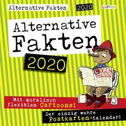 Mit alternativen Fakten durch das Jahr 2020 von Holtschulte,  Michael, Rogel,  Thomas