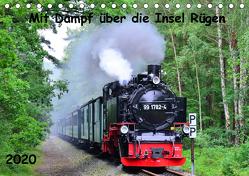 Mit Dampf über die Insel Rügen (Tischkalender 2020 DIN A5 quer) von Ott,  Silvia