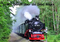 Mit Dampf über die Insel Rügen (Wandkalender 2019 DIN A4 quer) von Ott,  Silvia