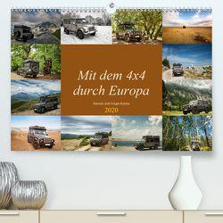 Mit dem 4×4 durch Europa (Premium, hochwertiger DIN A2 Wandkalender 2020, Kunstdruck in Hochglanz) von und Holger Karius,  Kirsten