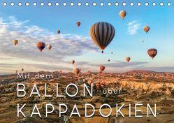 Mit dem Ballon über Kappadokien (Tischkalender 2018 DIN A5 quer) von Roder,  Peter