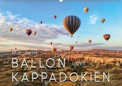 Mit dem Ballon über Kappadokien (Wandkalender 2018 DIN A2 quer) von Roder,  Peter