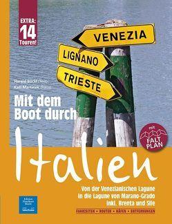 Mit dem Boot durch Italien von Böckl,  Harald, Martinek,  Kati