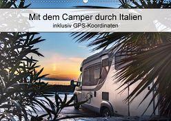 Mit dem Camper durch Italien – inklusiv GPS-Koordinaten (Wandkalender 2018 DIN A2 quer) von Steiner und Matthias Konrad,  Carmen