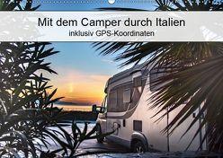 Mit dem Camper durch Italien – inklusiv GPS-Koordinaten (Wandkalender 2019 DIN A2 quer) von Steiner und Matthias Konrad,  Carmen