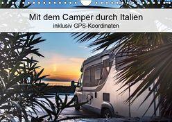 Mit dem Camper durch Italien – inklusiv GPS-Koordinaten (Wandkalender 2019 DIN A4 quer) von Steiner und Matthias Konrad,  Carmen