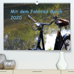 Mit dem Fahrrad durch 2020 (Premium, hochwertiger DIN A2 Wandkalender 2020, Kunstdruck in Hochglanz) von Herms,  Dirk