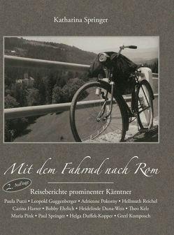 Mit dem Fahrrad nach Rom von Springer ,  Katharina