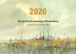 Mit dem Pinsel unterwegs in Mecklenburg von Berthel,  Gabriele, Kaffke,  Helga