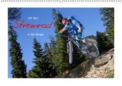 Mit dem Stromrad in den Bergen (Wandkalender 2019 DIN A2 quer) von Faltermaier,  Franz