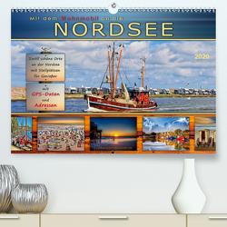 Mit dem Wohnmobil an die Nordsee (Premium, hochwertiger DIN A2 Wandkalender 2020, Kunstdruck in Hochglanz) von Roder,  Peter