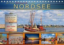 Mit dem Wohnmobil an die Nordsee (Tischkalender 2018 DIN A5 quer) von Roder,  Peter