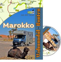 Mit dem Wohnmobil nach Marokko nk. von Knöpfle,  Daniela