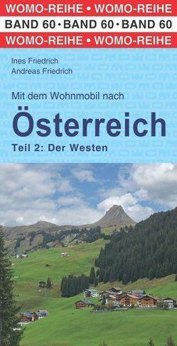 Mit dem Wohnmobil nach Österreich von Friedrich,  Andreas, Friedrich,  Ines