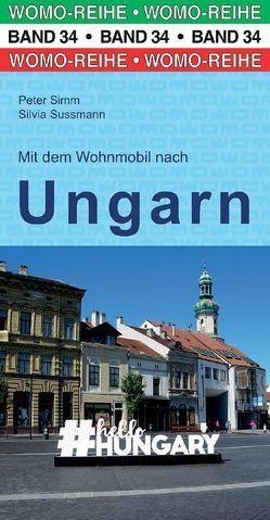 Mit dem Wohnmobil nach Ungarn von Simm,  Peter, Sussmann,  Silvia