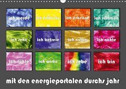 mit den energieportalen durchs jahr (Wandkalender 2019 DIN A3 quer) von Paetsch,  Frauke