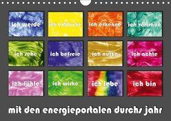 mit den energieportalen durchs jahr (Wandkalender 2019 DIN A4 quer) von Paetsch,  Frauke