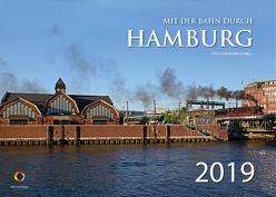 Mit der Bahn durch Hamburg 2019 von Schnell,  Rainer