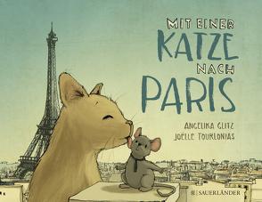 Mit einer Katze nach Paris von Glitz,  Angelika, Tourlonias,  Joelle