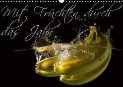 Mit Früchten durch das Jahr (Wandkalender 2019 DIN A3 quer) von Strasser,  Clemens