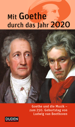 Mit Goethe durch das Jahr 2020 von Klauß,  Jochen