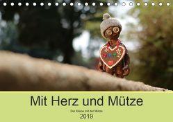 Mit Herz und Mütze (Tischkalender 2019 DIN A5 quer) von Kanthak,  Michaela