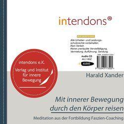 Mit innerer Bewegung durch den Körper von Xander,  Harald
