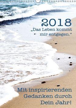Mit inspirierenden Gedanken durch Dein Jahr. 2018 (Wandkalender 2018 DIN A3 hoch) von Holzhauser,  Monika