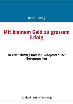 Mit kleinem Geld zu grossem Erfolg von Ludwig,  Horst
