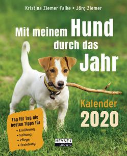 Mit meinem Hund durch das Jahr ─ Kalender 2020 von Ziemer,  Jörg, Ziemer-Falke,  Kristina