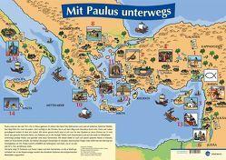 Mit Paulus unterwegs – Plakat von Foth,  Gerhard